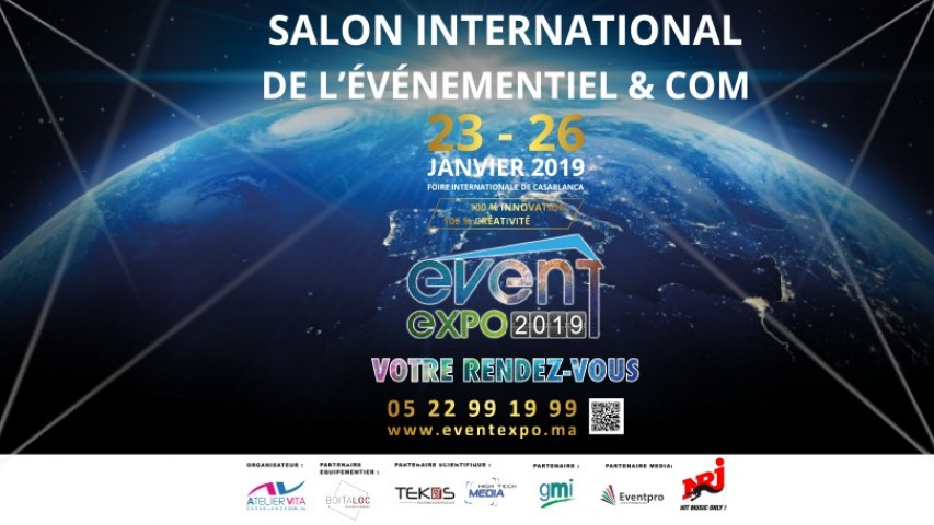 Event Expo – Salon International de l'événementiel et de la communication 2019