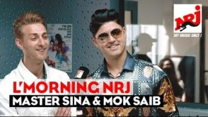 MASTER SINA, MOK SAIB, BIG SHIFT & DR BLACK f L'MORNING NRJ Maroc